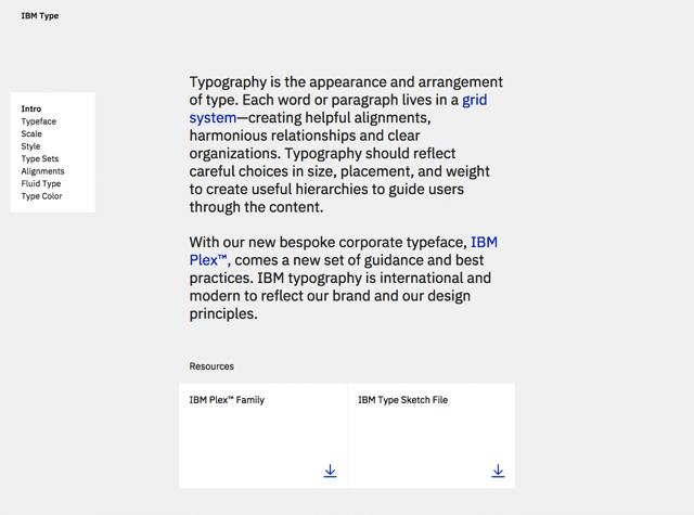 IBM Plex:IBM 设计免费字型下载,三种字体类型及风格指南