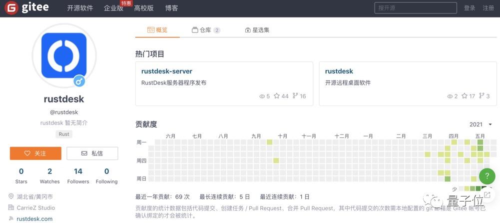 远程桌面RustDesk:多平台可用 大小只有9MB-OIMI